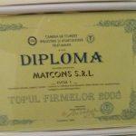 Ingrasaminte chimice Matcons diploma companie de top